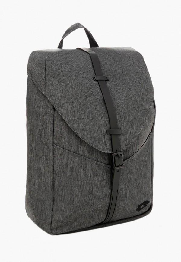 мужской рюкзак lotto, серый