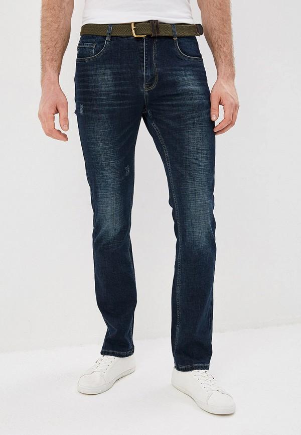 мужские зауженные джинсы la biali, синие