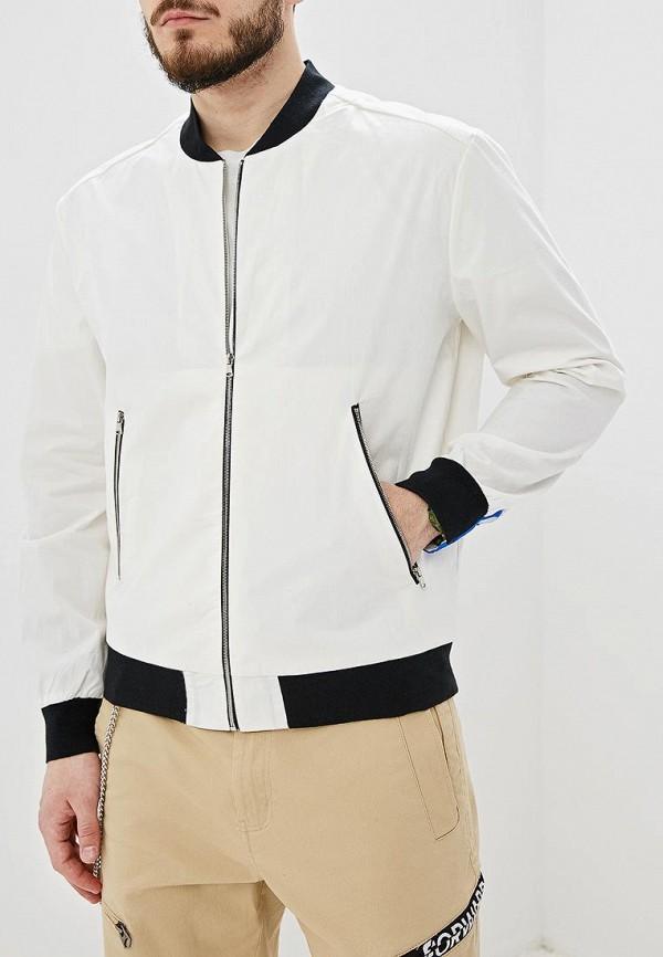мужская куртка forward, белая