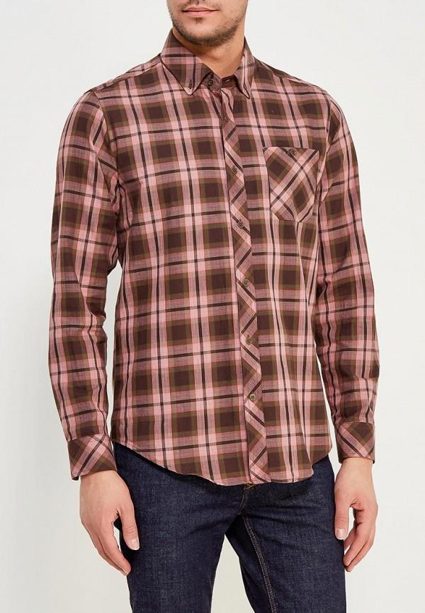 Купить Мужскую рубашку Karflorens коричневого цвета