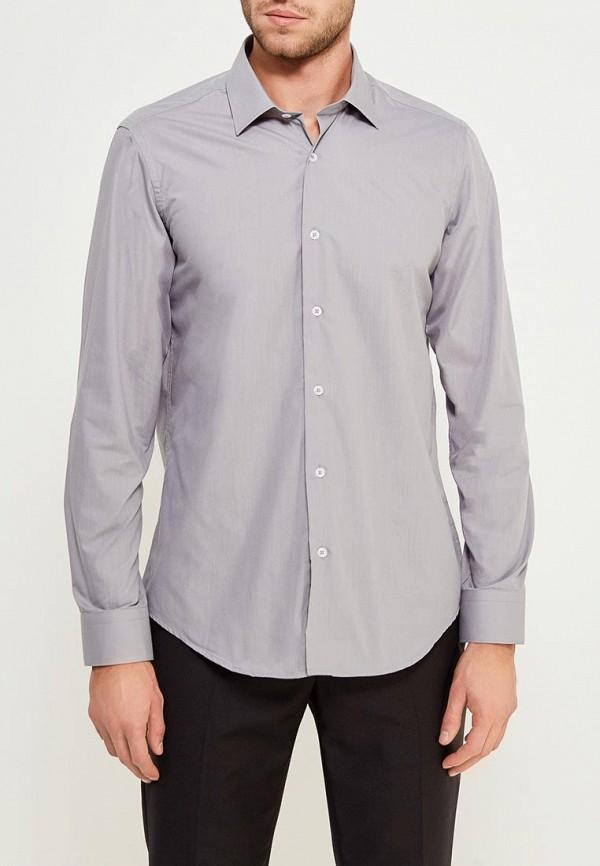 Купить Мужскую рубашку Karflorens серого цвета