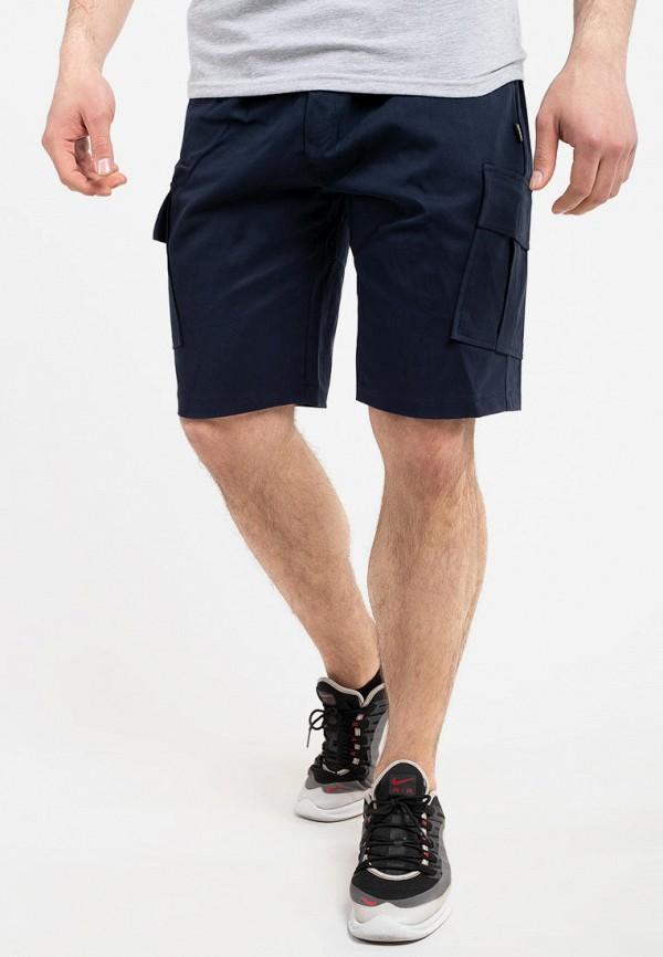 мужские повседневные шорты intruder, синие