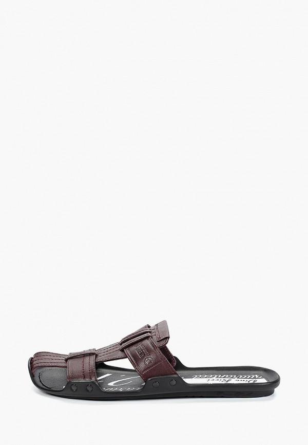 мужские сандалии dino ricci, бордовые