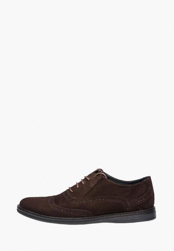 мужские туфли broni, коричневые