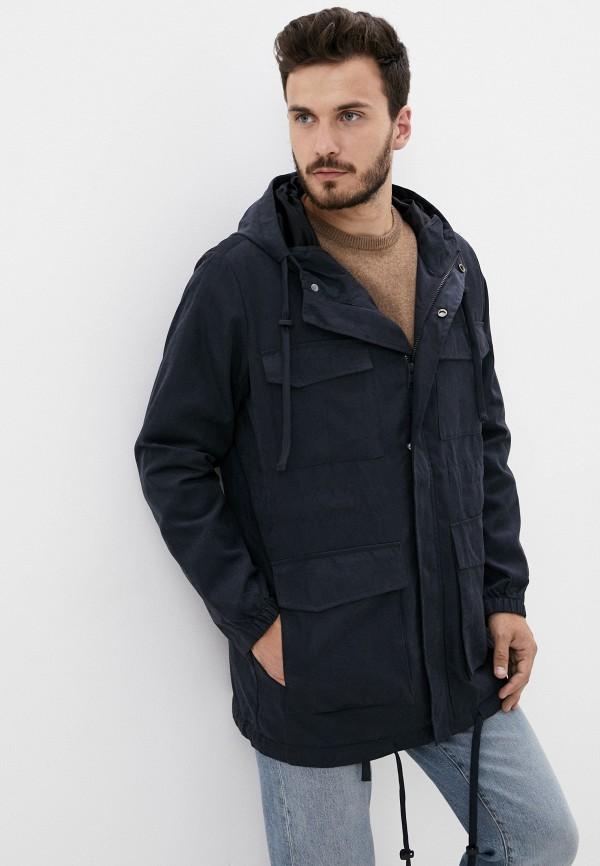 мужская куртка befree, синяя
