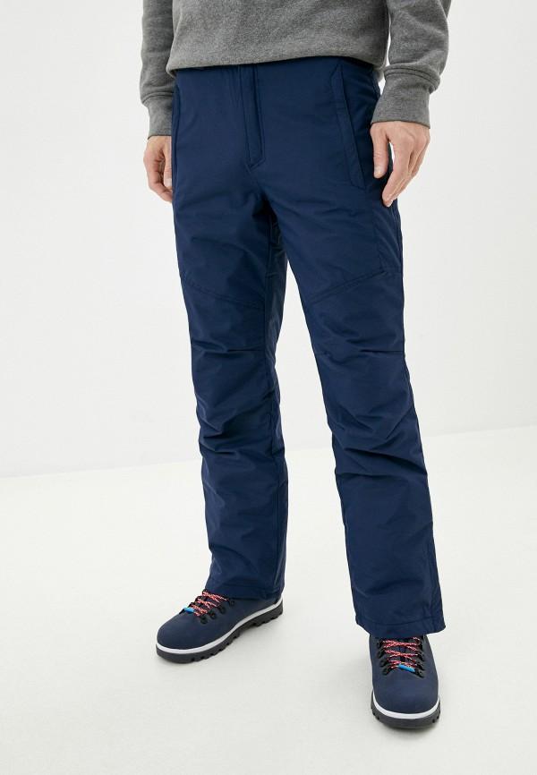 мужские утепленные брюки columbia, синие