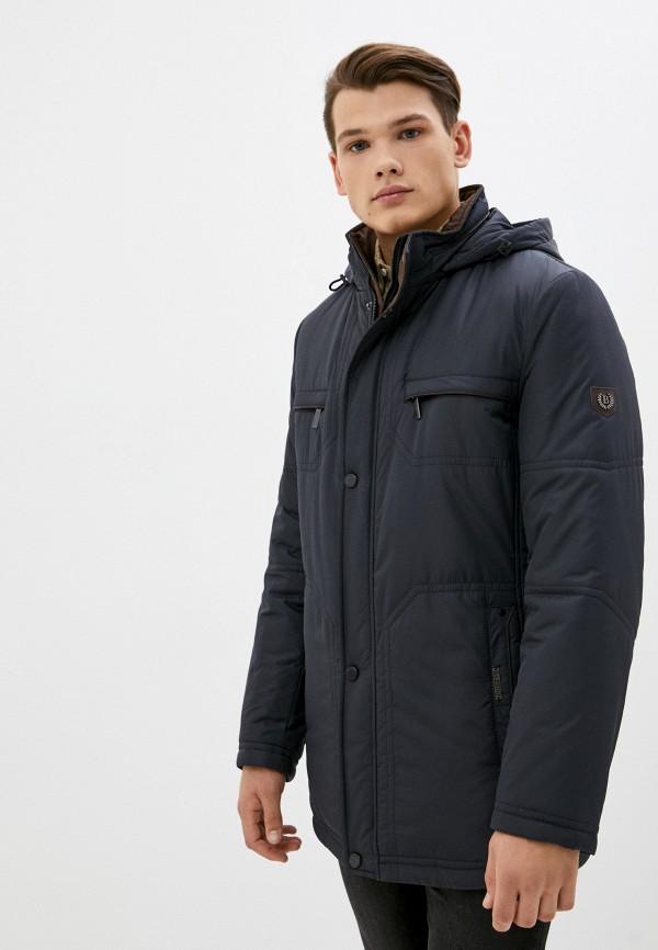 мужская утепленные куртка bazioni, синяя