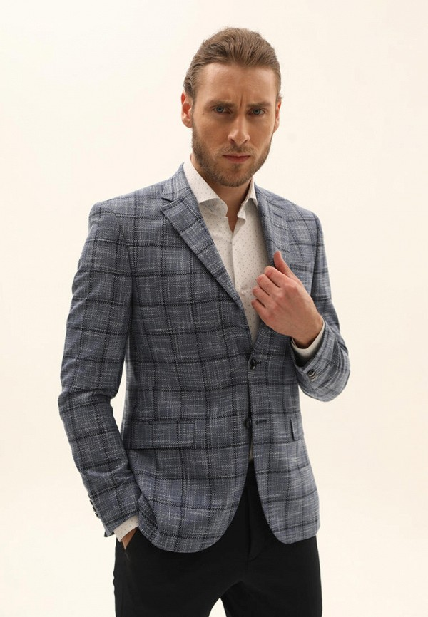 мужской пиджак navi, серый