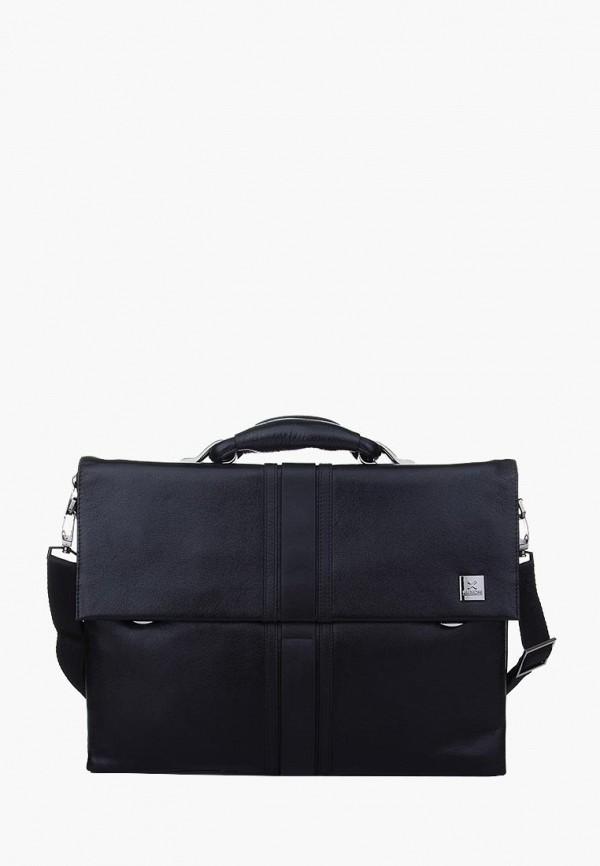 мужской портфель luxon, черный