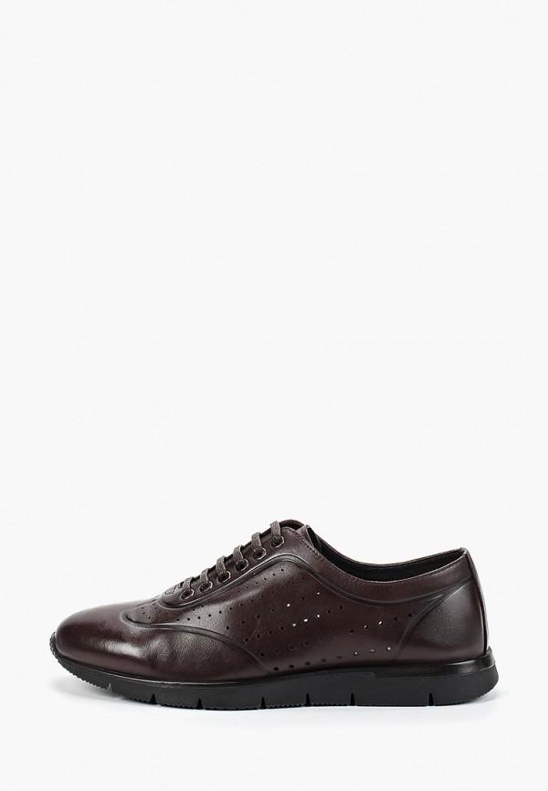 мужские кроссовки franco bellucci, коричневые