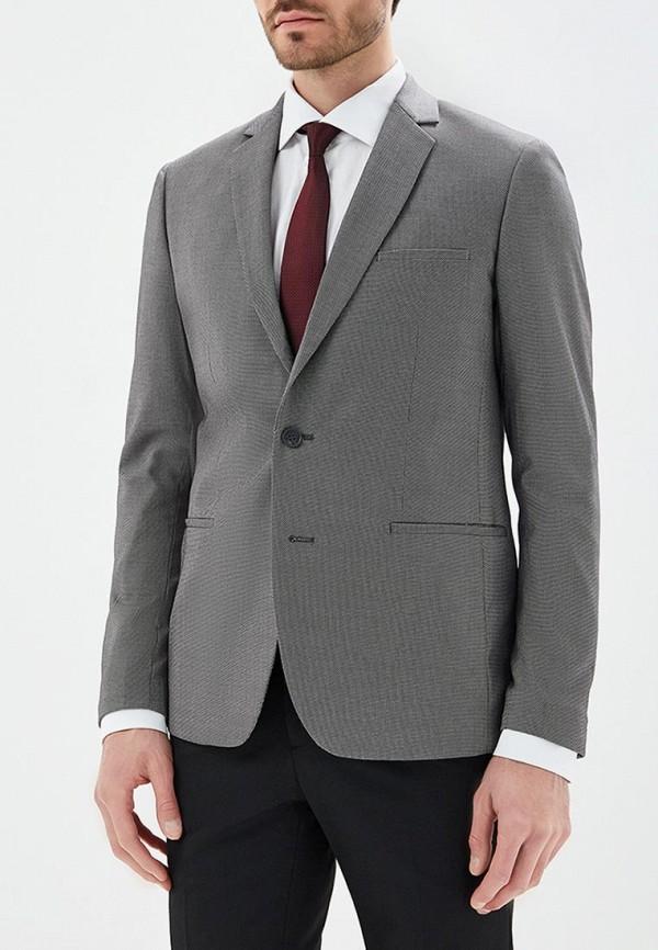 мужской пиджак top secret, серый