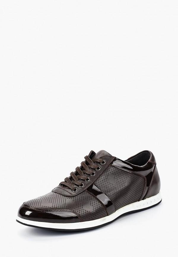 мужские кроссовки la biali, коричневые