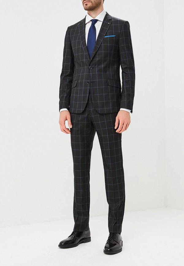 мужской костюм laconi, черный