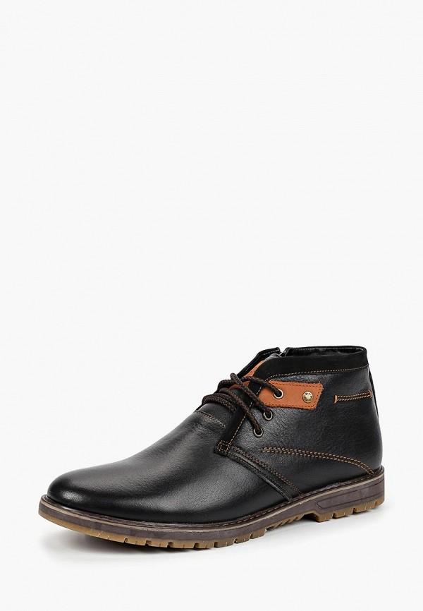 мужские ботинки sairus, черные