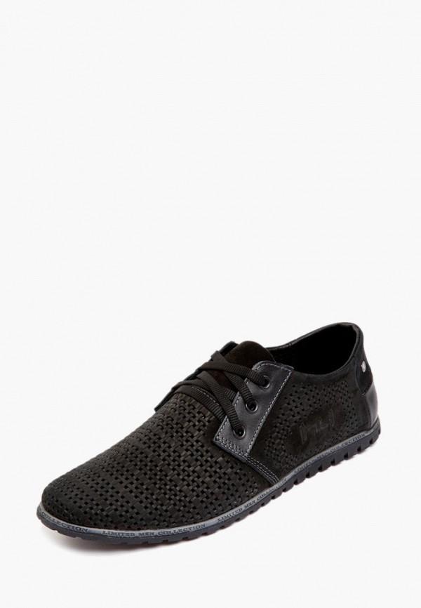 мужские ботинки h4, черные