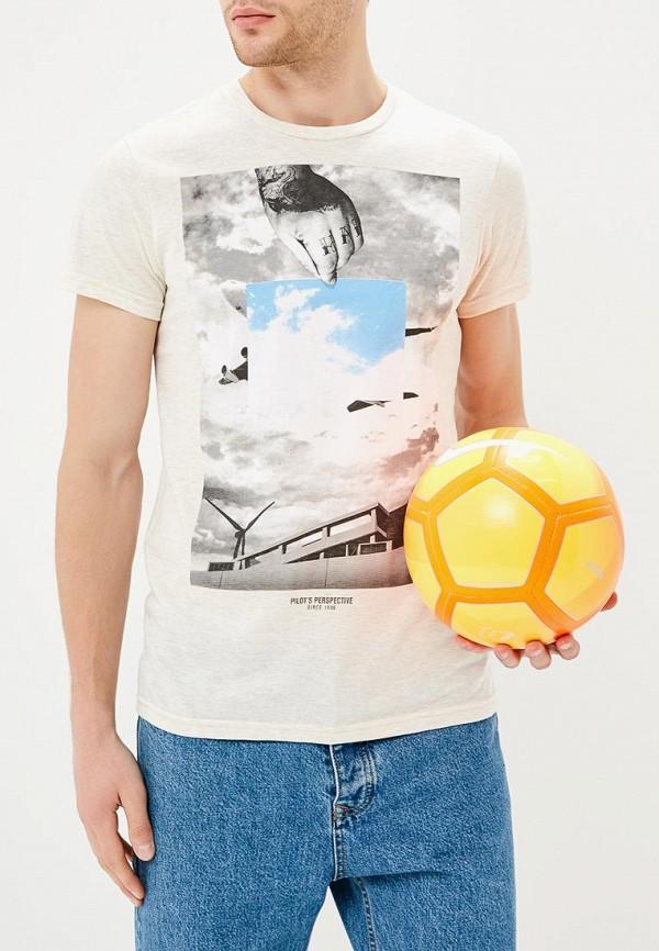 Купить Футболка Твое, MP002XM23QJR, бежевый, Весна-лето 2018