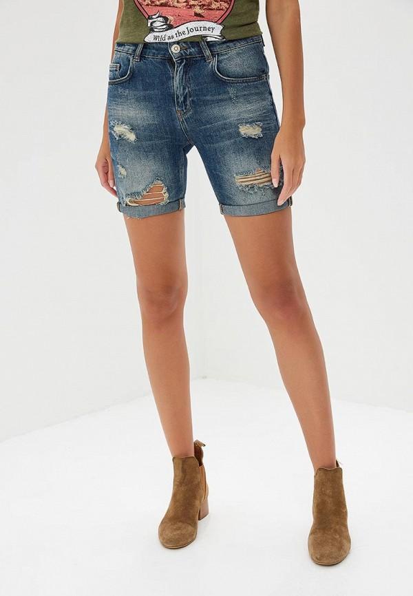 мужские джинсовые шорты colin's, синие