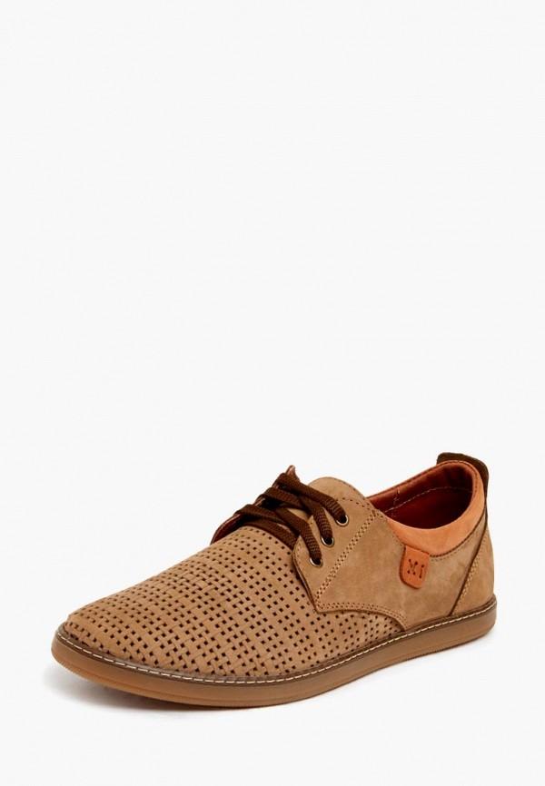мужские ботинки zain, коричневые