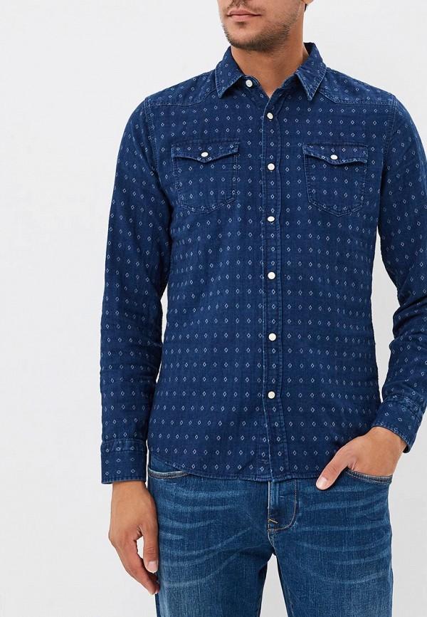 Купить Рубашка Colin's, MP002XM23RAK, синий, Весна-лето 2018