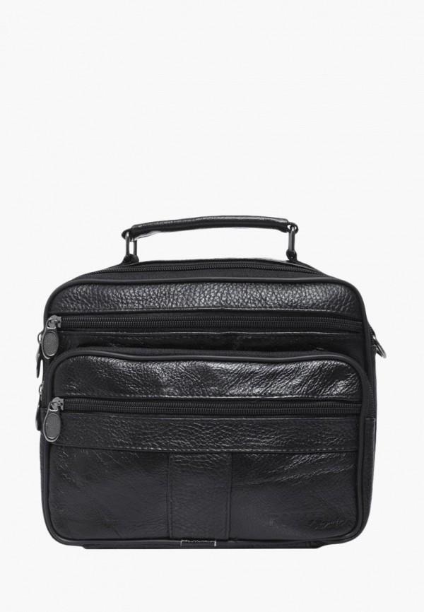 мужская сумка forte st.petersburg, черная