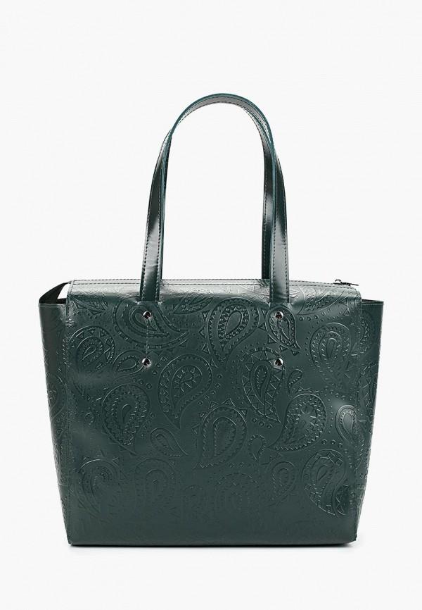 мужская сумка d.angeny, зеленая