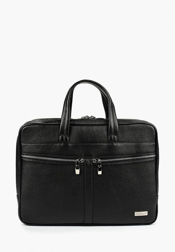 мужская сумка franchesco mariscotti, черная