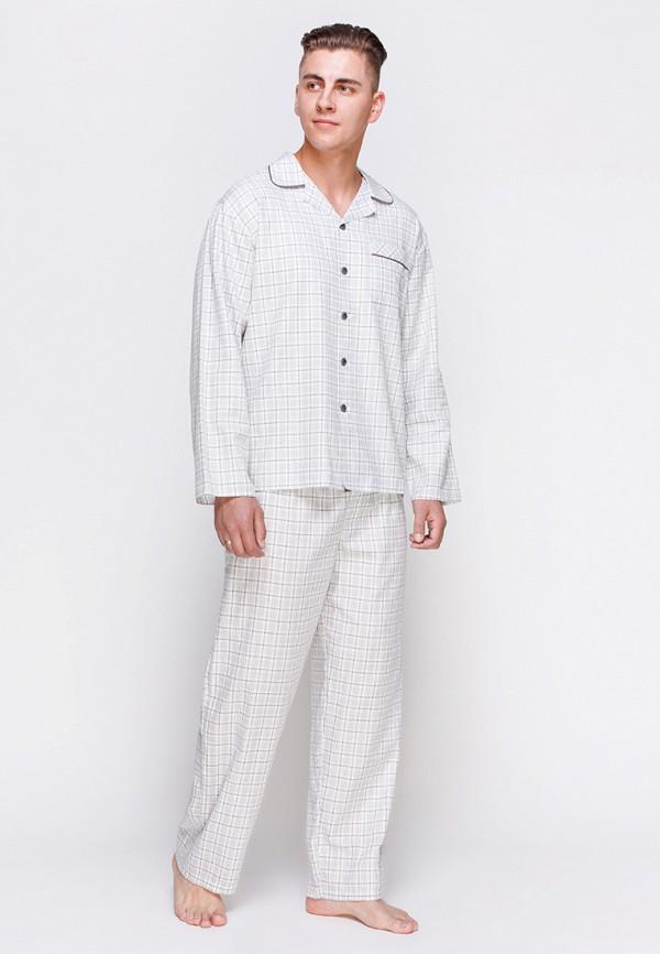 мужская пижама cyberjammies, серая
