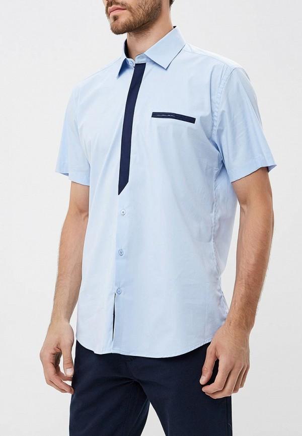 Купить Рубашка Hansgrubber, mp002xm23rv6, голубой, Весна-лето 2018