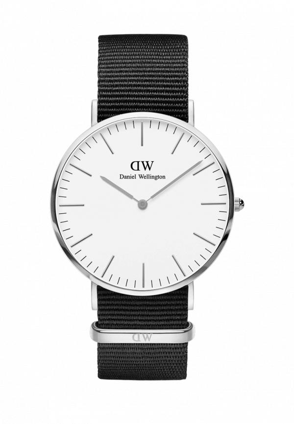 мужские часы daniel wellington, серебряные