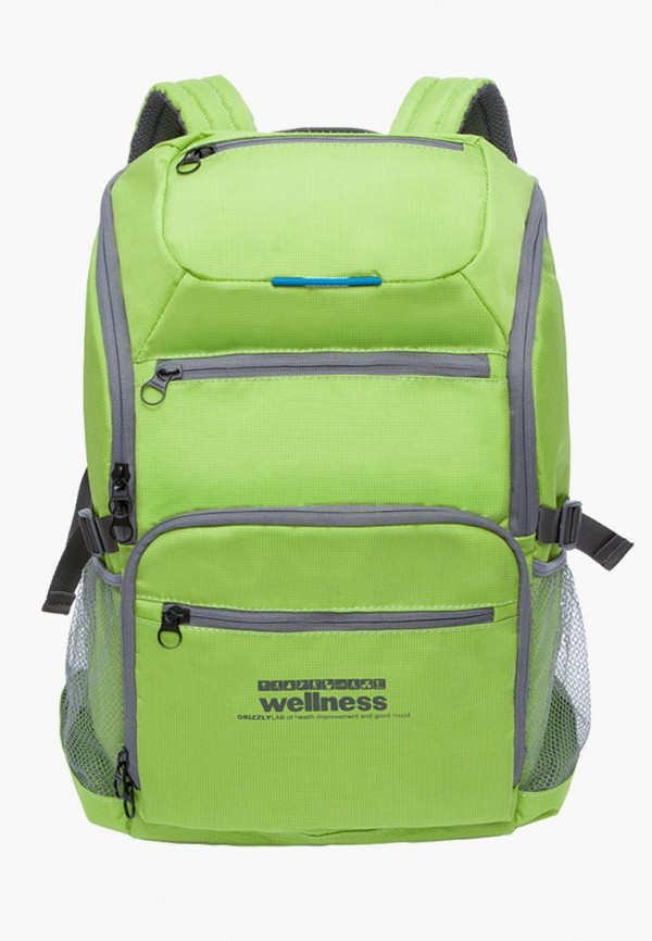 мужской рюкзак grizzly, зеленый