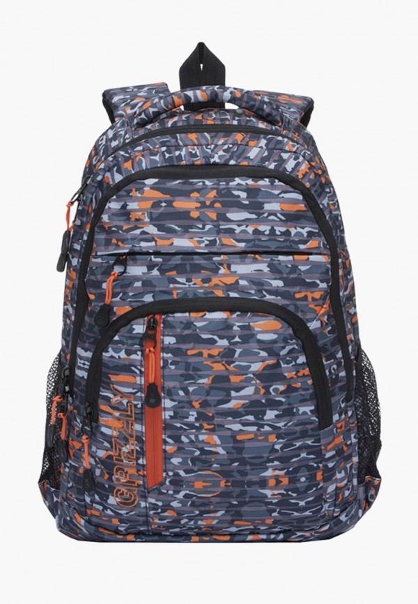 мужской рюкзак grizzly, разноцветный