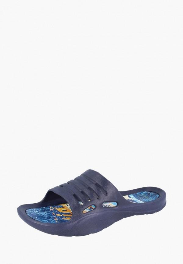 мужские сланцы de fonseca, синие