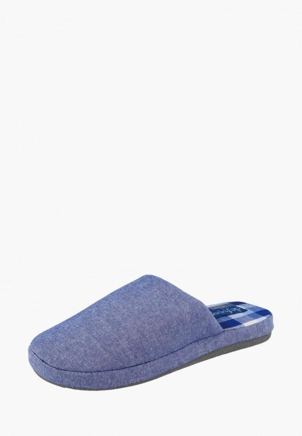 мужские тапочки de fonseca, голубые