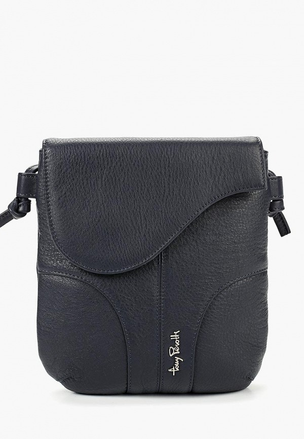 мужская сумка tony perotti, синяя