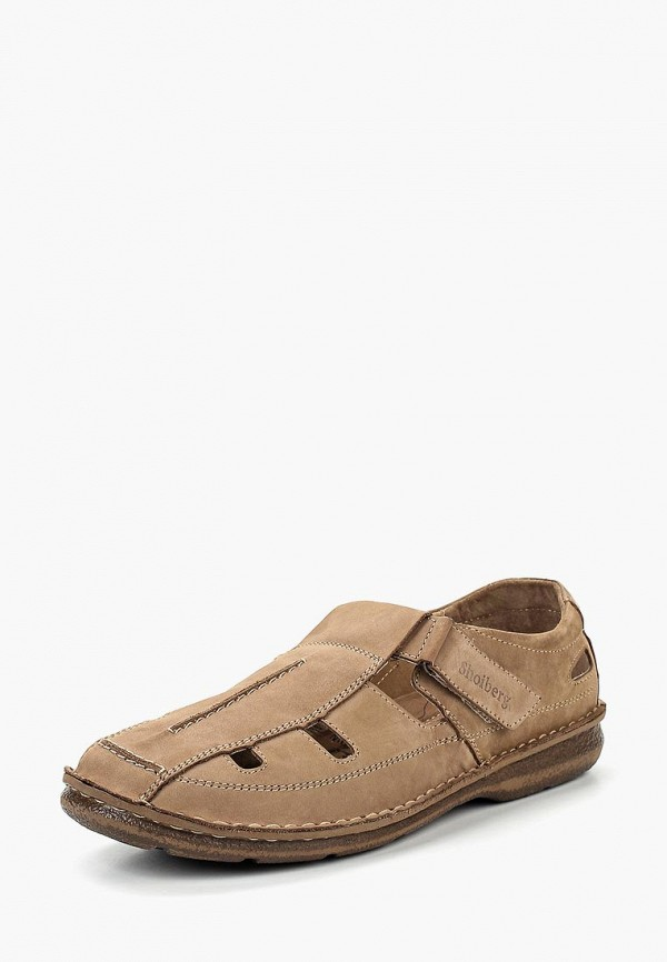мужские сандалии shoiberg, бежевые