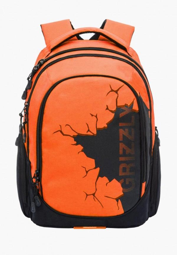Рюкзак Grizzly Grizzly MP002XM23SIA grizzly рюкзак цвет серый оранжевый rb 733 2 4