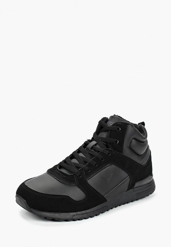 мужские кроссовки timejump, черные