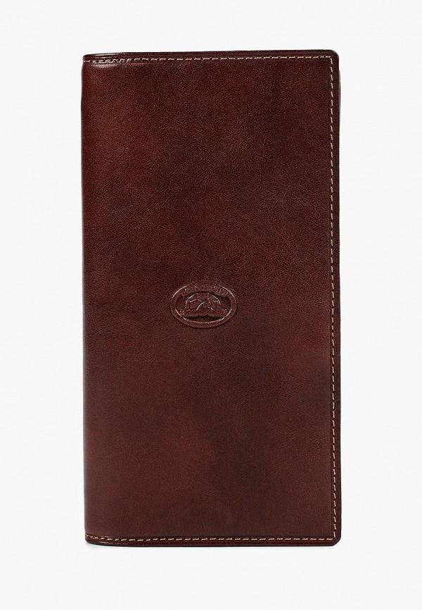 мужской кошелёк tony perotti, коричневый
