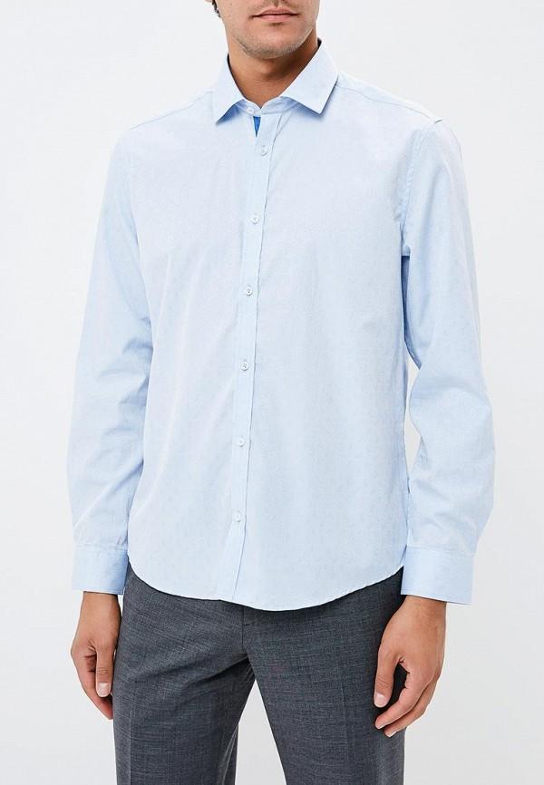 Рубашка John Jeniford цвет голубой  Фото 4