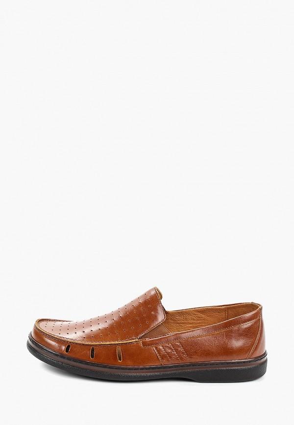 мужские мокасины romer, коричневые