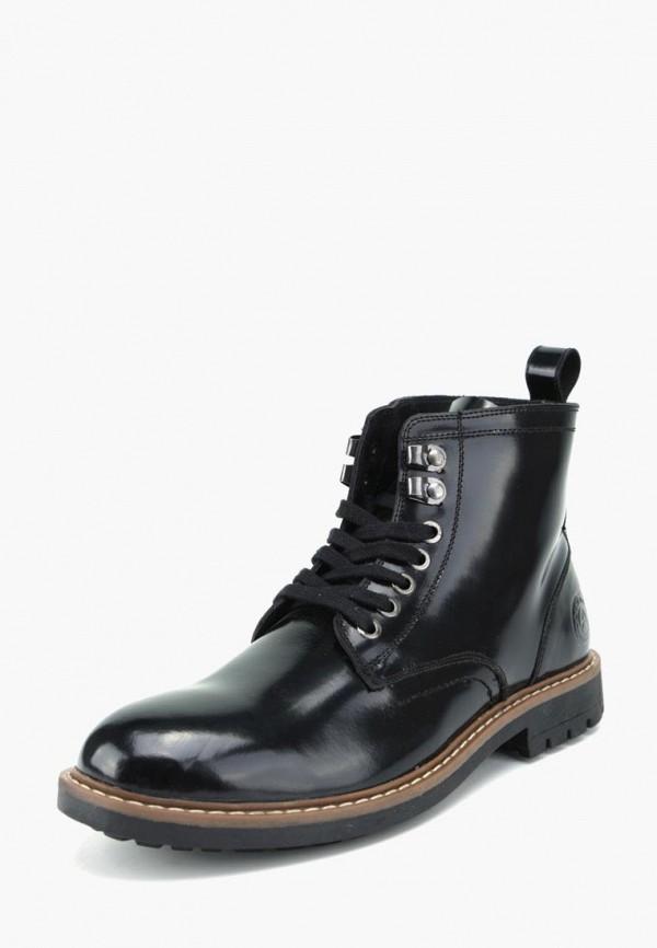Фото - Мужские ботинки и полуботинки Airbox черного цвета