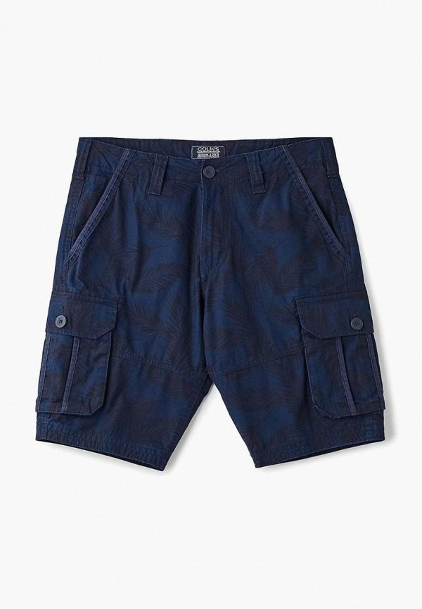 мужские повседневные шорты colin's, синие