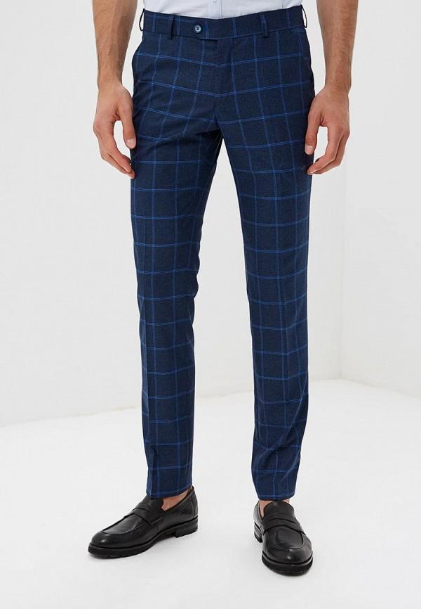 мужские зауженные брюки laconi, синие