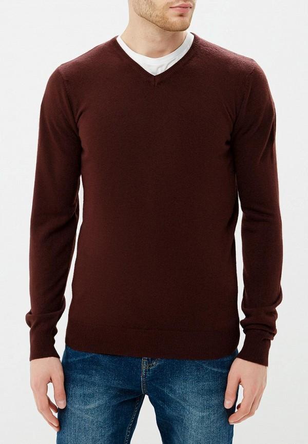 Пуловер  коричневый цвета