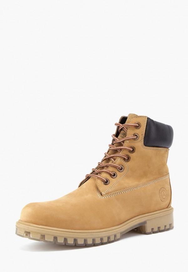 мужские ботинки airbox, желтые