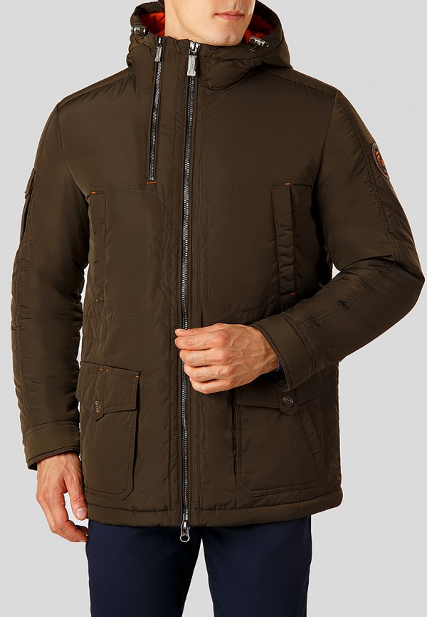 Купить Куртка утепленная Finn Flare, MP002XM23UDO, коричневый, Осень-зима 2018/2019