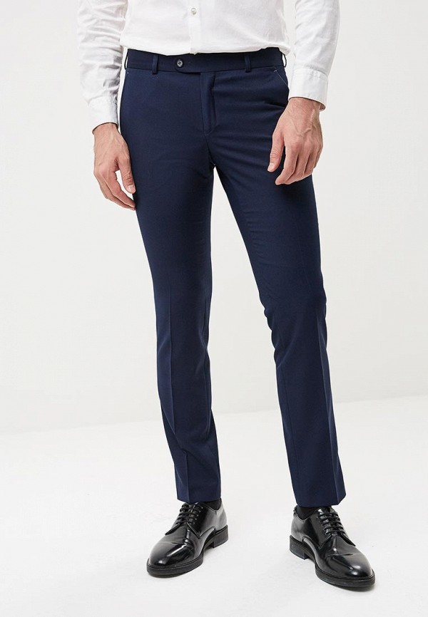 мужские зауженные брюки absolutex, синие