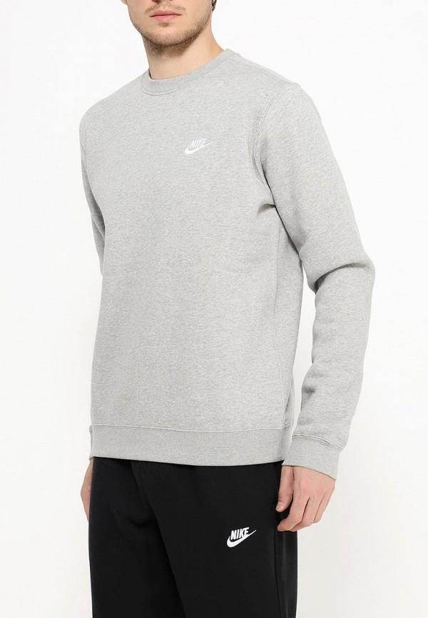 мужской свитшот nike, серый