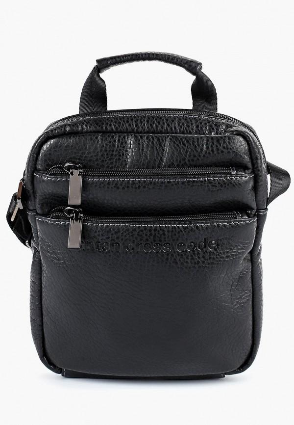 мужская сумка antan, черная