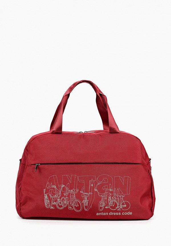 мужская сумка antan, красная